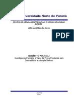 1533_TCC INQUÉRITO POLICIAL Investigação Policial e o Valor da Prova Produzida sem Contraditório e a Ampla Defesa. JOAO MARCELO .doc