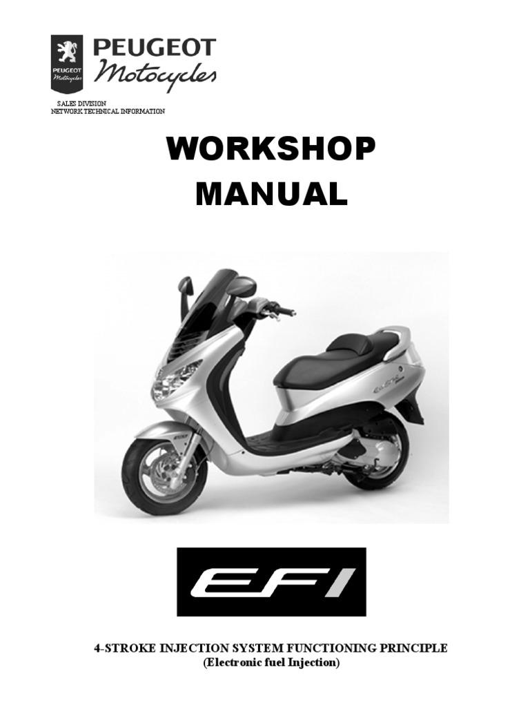 peugeot elystar efi system fuel injection throttle rh pt scribd com
