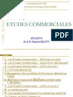 Etudes Commerciales a Elamri 2013