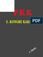PKK 5.kongre kararları