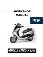 Peugeot Elystar Workshop Manual