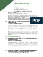 NEECOM Agenda May 1st 2013