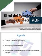 Memorias Seminario Psicologo - Salud Ocupacional