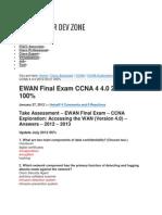 CCNA Final