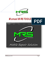 Manual MRS TOOLS v 2 .1 English Language