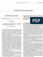 Ley 50-2002 de 26 de Diciembre de Fundaciones (Estado)