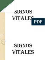 PRESENTACION SIGNOS VITALES