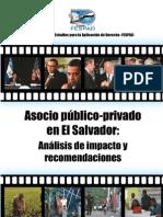 Análisis de Asocio Público-Privados en El Salvador