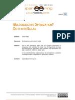 Multiobjective Optimization Scilab