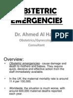 Dr. Al-Harbi - OB Emergencies