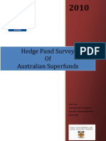 Australian Superannuation Hedge Fund Survey (AIMA, 2010)