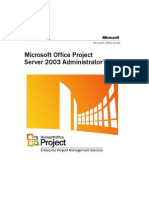 Project Server 2003 Administrators Guide