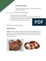 Properties of Copper n Bronze