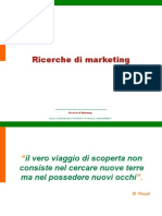 Introduzione alle ricerche di marketing