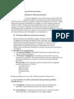 Clasificación de las proteinas