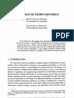 Categorias Del Tiempo Historico - Alberto Hornero