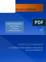 FISIOLOGIA MUSCULO CARDIACO