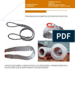 Catalago Eslingas de Cable de Acero Especiales Fajas de CablesV1