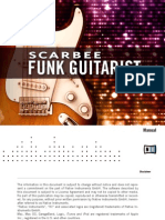 Scarbee Funk Guitarist Manual