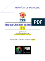 Reglas 2012 - Español
