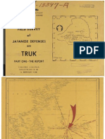 Truk Islands Defenses