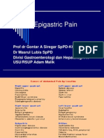 Epigastric Pain (up date) masroel gontar.ppt
