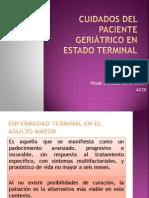 Cuidados del paciente geriátrico en estado terminal