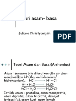 Teori asam- basa