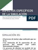 Aspectos de Simulación