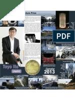 Toyo Ito Premio 2013