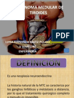 Carcinoma Medular Tiroides Presentacion.