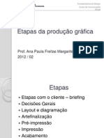 etapas da produção gráfica