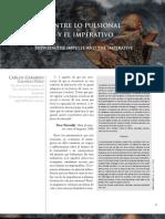 Galindo Perez, Carlos G. Entre Lo Pulsional y Lo Imperativo