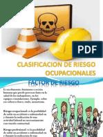 Clasificacion de Riesgo Ocupacionales