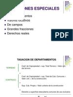 Valuaciones-Departamentos, Campos, Grandes Terrenos, Derechos Reales