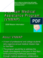 VNMAP Power Point for Donors