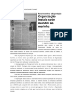 Matéria Tribuna Da Marinha Grande - Francisca