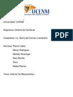 Informe Mesoamérica