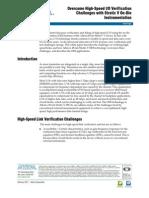 Altera Overcome High-Speed IO Verification Challenges With Stratix v on-Die Instrumentation
