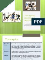 Conceptos básicos del deporte