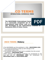 Incoterms - Shipping Line