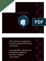 Antarctica & Melting Poles