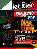 Boletín Juventud Sión 18 de Marzo de 2013
