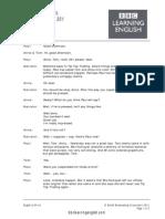 120404143807 120404 English at Work Episode 8 English Script