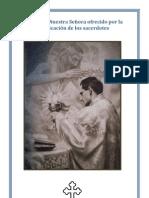 Dolores de Nuestra Señora ofrecido por la santificación de los sacerdotes