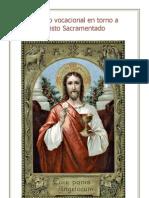 Rosario Vocacional en Torno a Cristo Sacramentado (Libro)