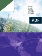 FEDEX Corporate Brochure 2012
