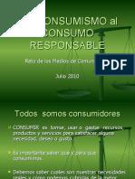 Del Consumismo Al Consumo Responsabel