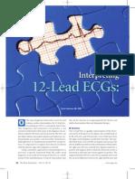 12 lead EKG nursing study