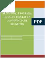 ARGENTINA Programa de Salud Mental en Rio Negro (2)